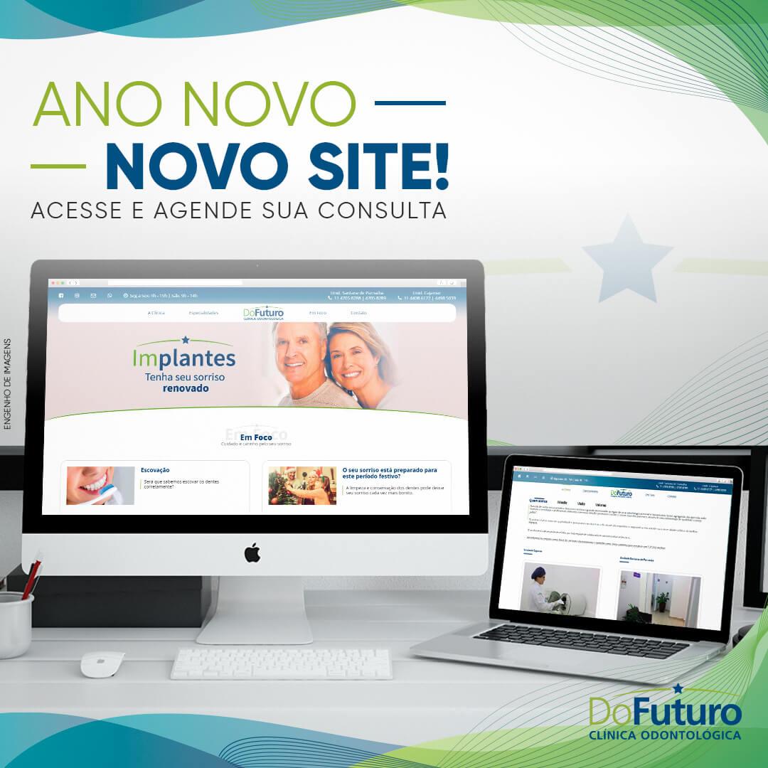 Ano novo. Novo Site!