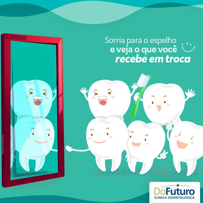 Sorrir faz bem!