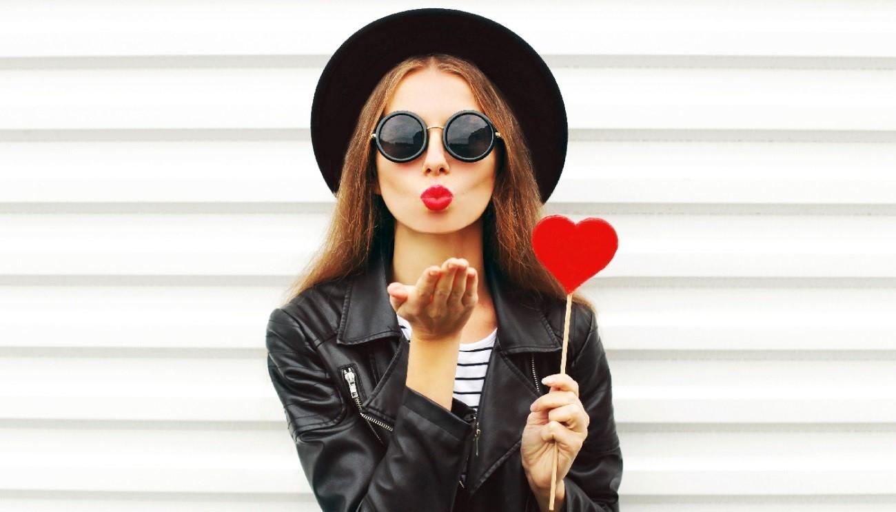 É hoje! O dia do beijo.