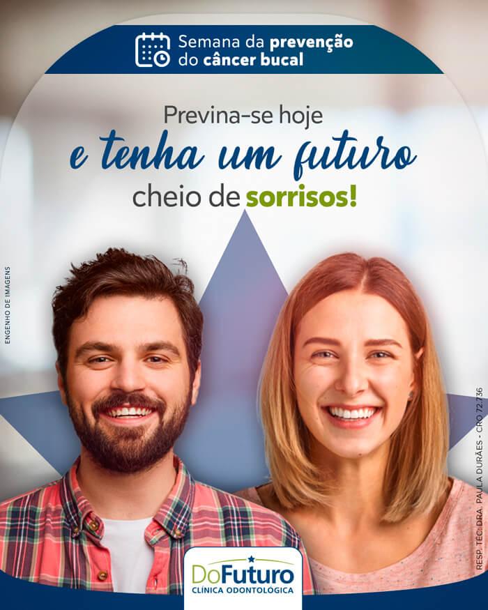 Semana nacional de prevenção do câncer bucal: Proteja os seus futuros sorriso