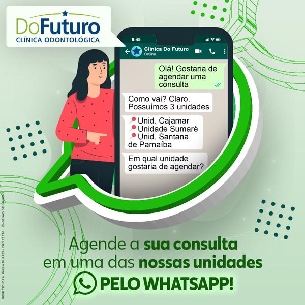 Agende a sua consulta em uma das nossas unidades pelo WhatsApp!