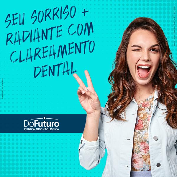 Seu sorriso + radiante com clareamento dental